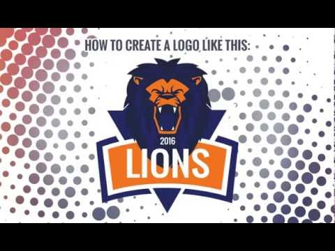 Tutorial: Create Lion Esports/ Sports Clan Logo for your Team ...