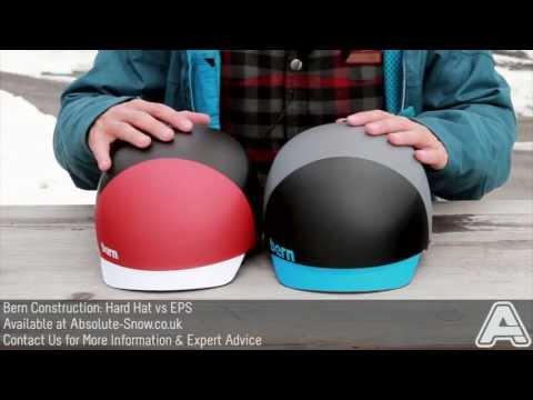 Bern Helmet Construction Explained: Hard Hat VS EPS   Video Review