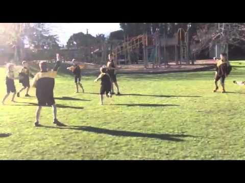 Maori game(Ki-o-Rahi)