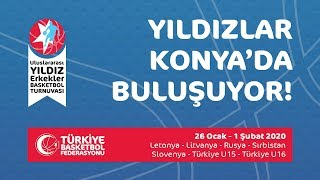 Türkiye U15 - Rusya 23. TBF Uluslararası U16 Yıldız Erkekler Turnuvası