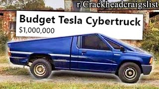 r/Crackheadcraigslist | TOTALLY REAL TESLA