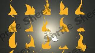 Cartoon Style 2D Fire Effects   Book Marketing