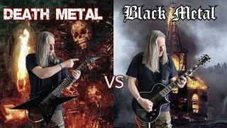 Death Metal VS Black Metal (Ultimate Guitar Riffs Battle)