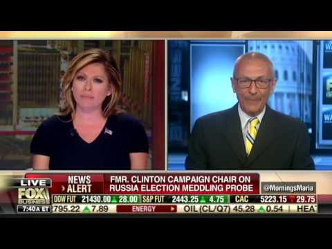 Maria Bartiromo: A Daring and Forceful  Interview of John Podesta