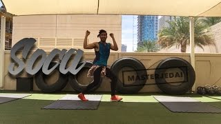 Hula Hoop (Soca Remix) by Omi Ft. Machel Montano| Zumba® Fitness | Masterjedai