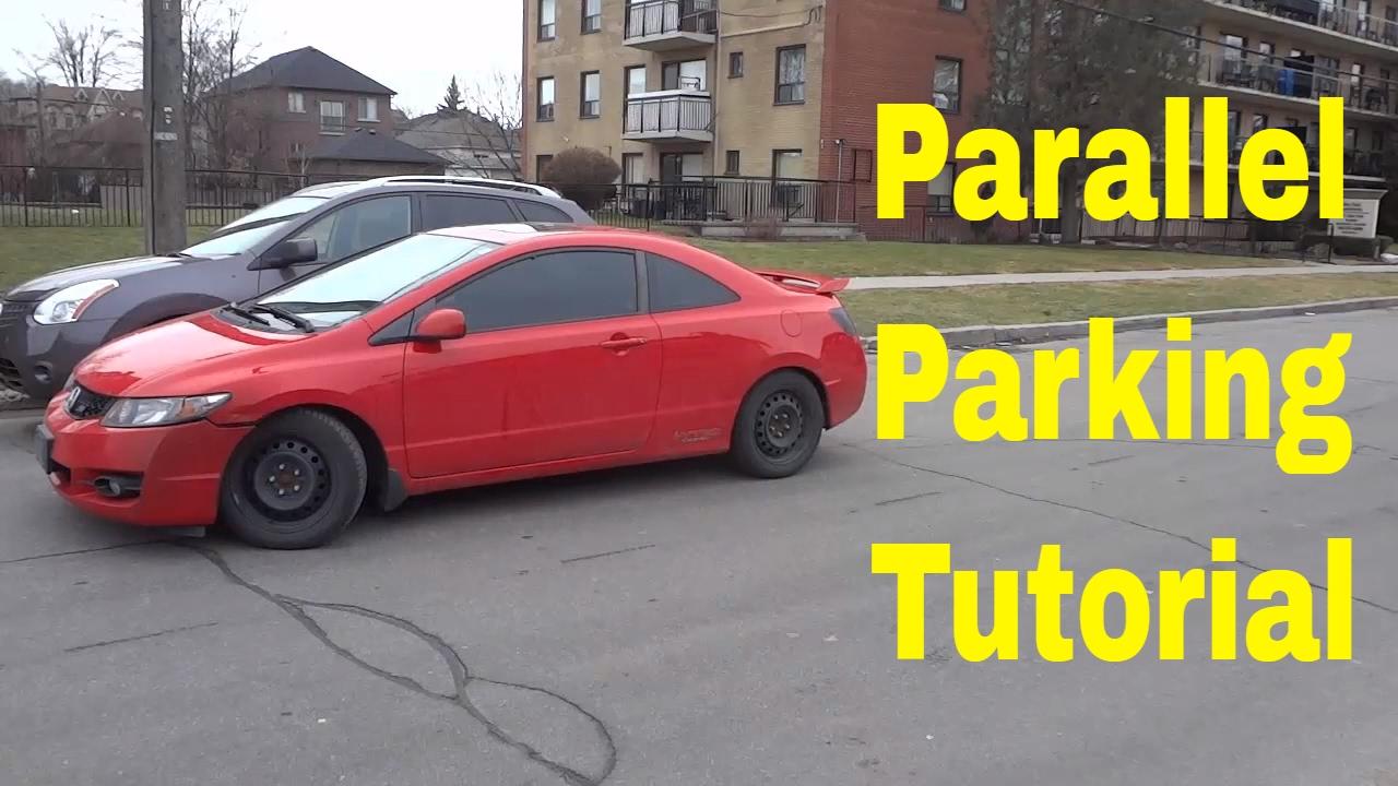 Youtube Com How To Parallel Park A Car