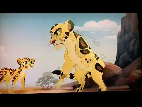 The Lion Guard - The Golden Zebra Clip