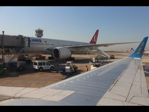 Kiev to Istanbul - Takeoff and Landing - Ukraine International Airlines