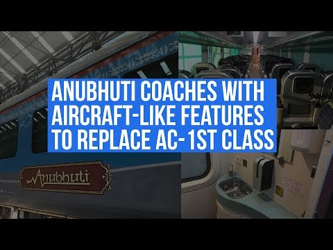 Shatabdi Trains Upgrade: Anubhuti Coaches With Aircraft-Like Features To Replace AC-1st Class