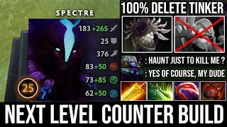 200IQ Next Level Counter Play Blade Mail \u0026 Butterfly Spectre 100% Deleted Offlane Tinker Ez 26Kills