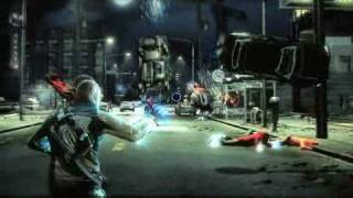Infamous PS3 gameplay footage