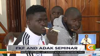 Doping sensitisation workshop for Nairobi teams