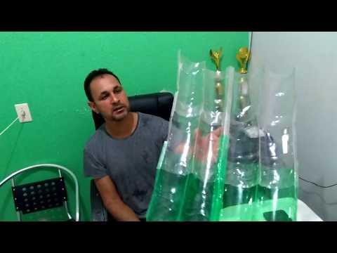 Como fazer uma Telha ecológica de garrafa pet