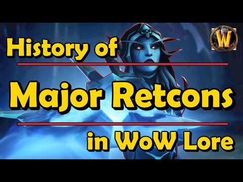 The History of All Major Retcons in WoW Lore