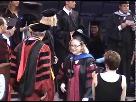 Patricia Williams hooded at OU-Tulsa, Ed.D.