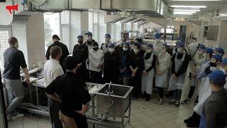 Мастер-класс по приготовлению суши от Токио в рамках проекта «Кадры для бизнеса. Рестораны»