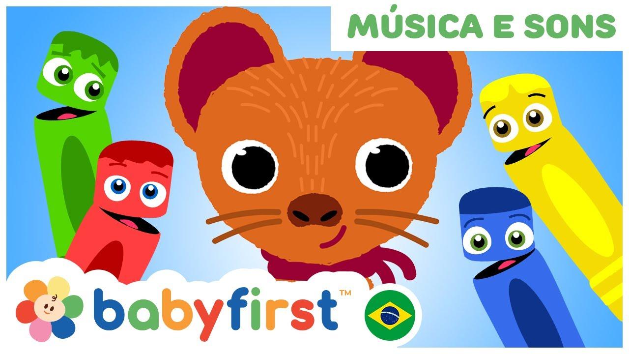 Canções de bebê | Pop vai a doninha e mais | Educação Infantil | BabyFirst Brasil