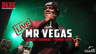 Mr Vegas [LIVE] @ Paris, Cabaret Sauvage (France - 2018)