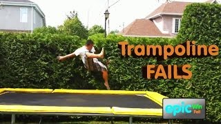 Epic Win/Fail HD Compilation - Best Trampoline Fails