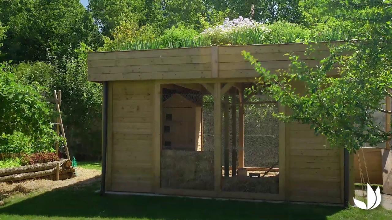 Comment Isoler Une Cabane De Jardin comment installer un toit végétalisé ? - jardinerie truffaut tv