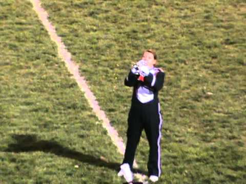 Fairfield Union Marching Falcons halftime show 10-1-2010