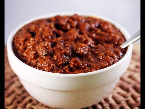 Spicy Chili Recipe (Award Winning)