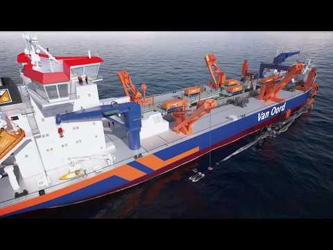 Trailing suction hopper dredger Vox Amalia