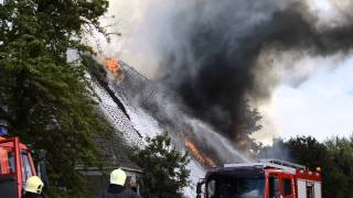 Grote boerderijbrand pietersbierum