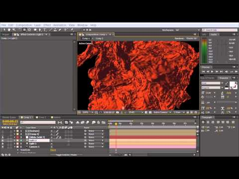 Getting Started With Trapcode Mir - Part 2: Shader, Material & Texture