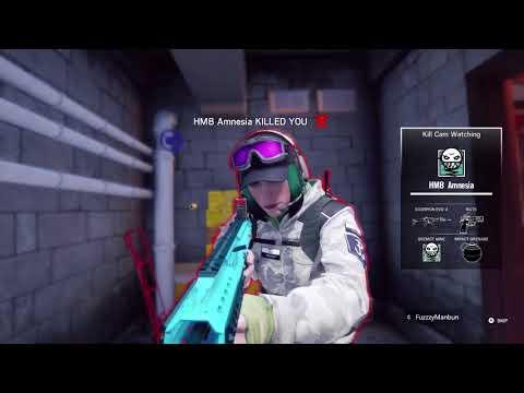 HM8 Gaming Clan - Rainbow Six Siege Friday Night Friendly 1 of 2 (29/9/2017)