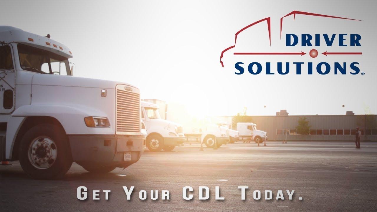 driver solutions - cdl training  u0026 truck driver jobs