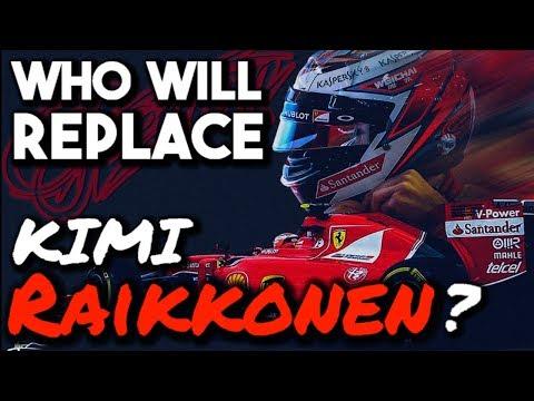 Who will replace Kimi Raikkonen at Ferrari?