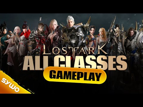 LOST ARK All Classes Gameplay