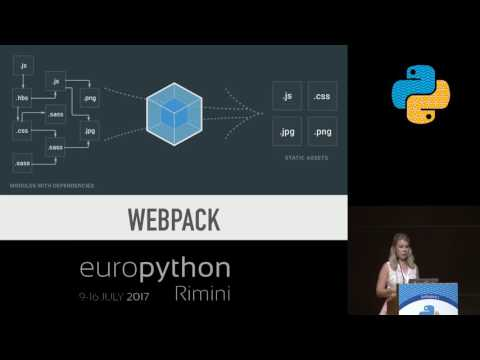 Image from Building a full-stack web application with Python, NPM, Webpack and React