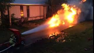 Flamethrower v Fire Hose thumbnail