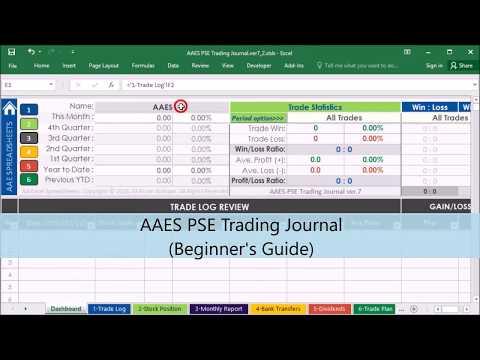 Stock Portfolio Management Excel Spreadsheet (Beginner's guide -part 1)
