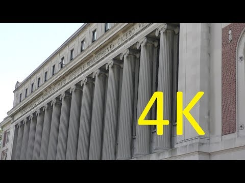 A 4K Tour of Columbia University