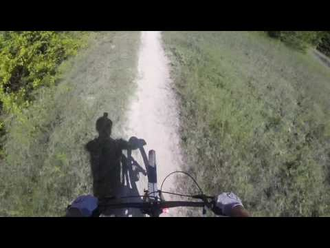 Boulder Park, Dallas, TX - Mountain Bike POV Full Loop 2016