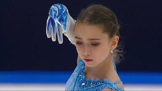 Камила Валиева Короткая программа Женщины Москва Кубок России по фигурному катанию 2020 21