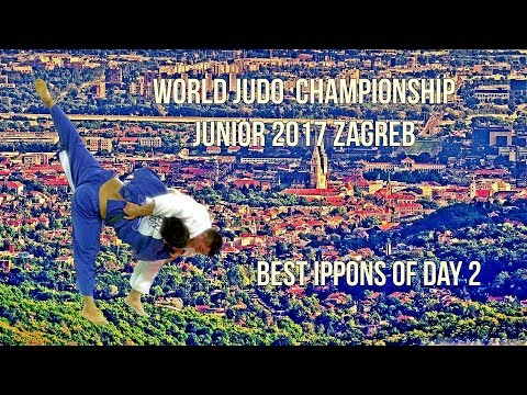 (Must see!) Best ippons in day 2 of World Judo Championship Juniors 2017 Zagreb