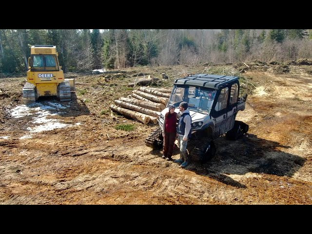 Loggers were FORCED OFF of Our 500+ ACRE OFF-GRID Property DUE to MUD SEASON | THIS is WHAT'S LEFT