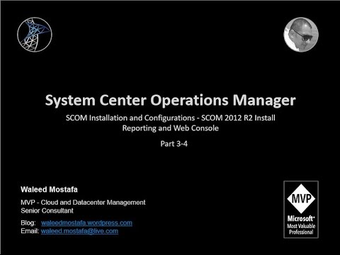 06. Part 3 4 SCOM Installation and Configurations   SCOM 2012 R2 Install Reporting and Web Console