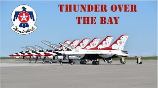 Download lagu 2019 U S A F Thunderbirds Thunder Over the Bay Air Show Demonstration MP3