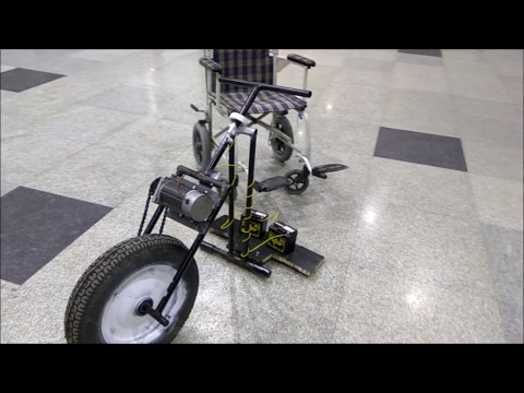 Detachable Wheelchair Automator - MCP101 Project