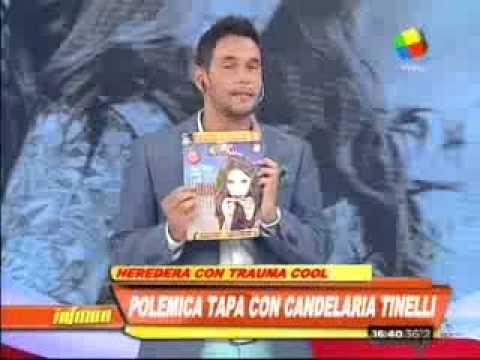 """Polémica por El """"Trauma Cool"""" de Candelaria Tinelli"""