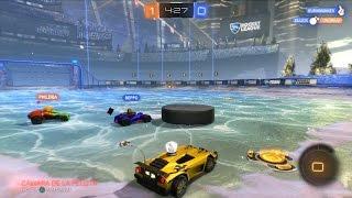 rocket league nuevo mapa y modo de juego