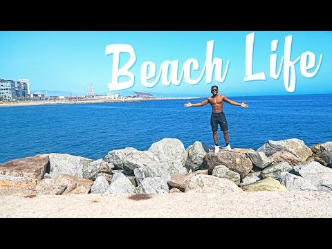 The Barcelona Beach Lifestyle: Travel Vlog