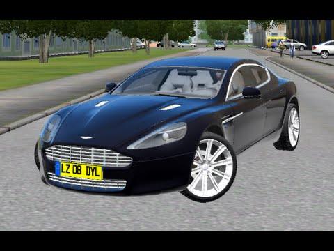 Aston Martin Rapide   City Car Driving 1.5.0 (G27)