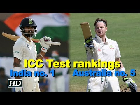 ICC Test rankings: India no. 1, Australia 5th