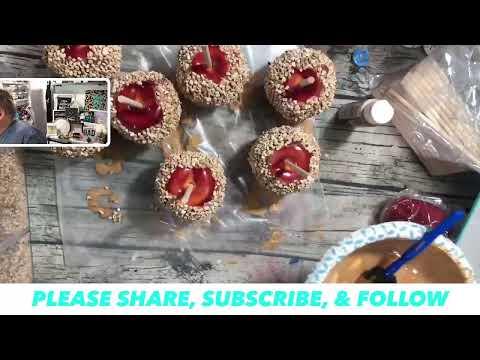 Let's Make Faux Candy Apples #DIY #FallDecor #DIYFauxApples #EasyCrafts